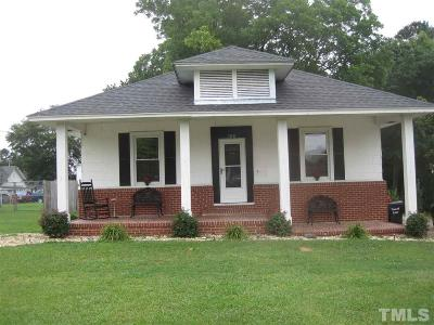 Harnett County Single Family Home For Sale: 106 W D Street