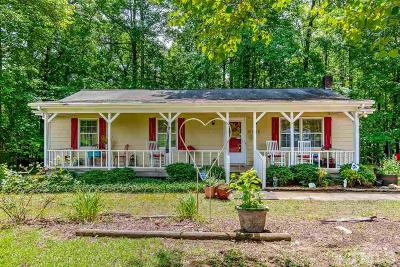 Apex Single Family Home For Sale: 12005 Holly Springs New Hill Road