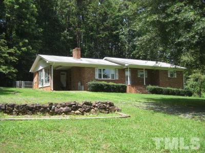 Pittsboro Rental For Rent: 978 Elmer Keck Road