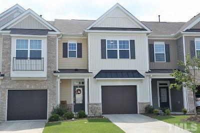 Morrisville Townhouse For Sale: 1005 Historic Circle