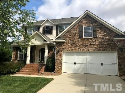 Cary Single Family Home For Sale: 401 Braswell Brook Court