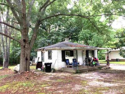 Apex Single Family Home Pending: 8325 Rhodes Road