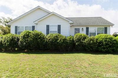 Louisburg Single Family Home Contingent: 45 Twin Creek Drive