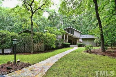 Chapel Hill Single Family Home For Sale: 122 Stoneridge Drive