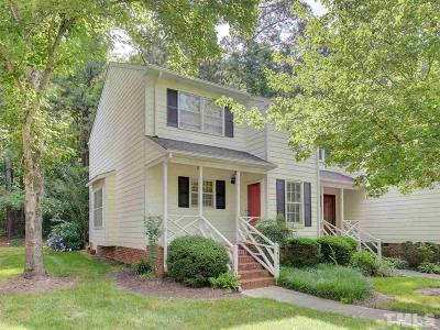 Raleigh Townhouse For Sale: 7416 Penny Hill Lane