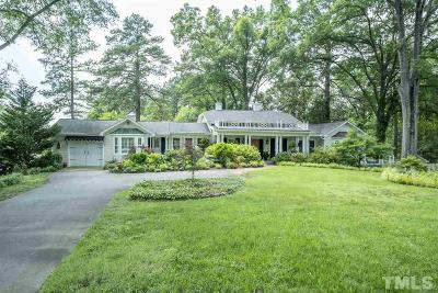 Durham County Single Family Home Contingent: 3306 Hope Valley Road