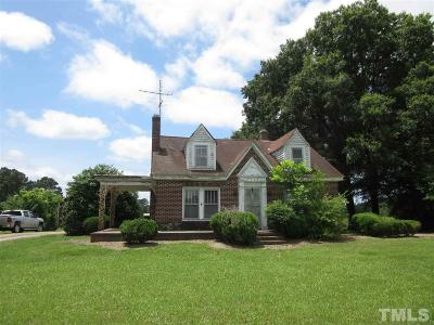 Zebulon Single Family Home For Sale: 1817 Zebulon Road