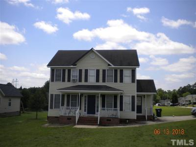 Wendell Single Family Home For Sale: 604 Convexa Court