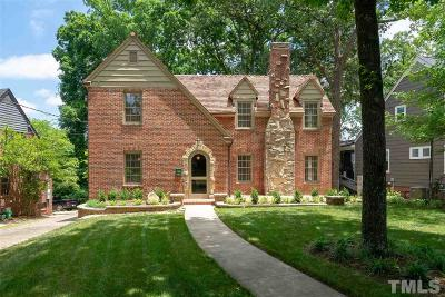 Raleigh Single Family Home For Sale: 1924 St Marys Street