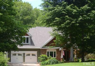 Chatham County Single Family Home For Sale: 360 Frosty Meadow Drive