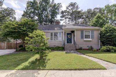 Raleigh Single Family Home For Sale: 2503 St Marys Street