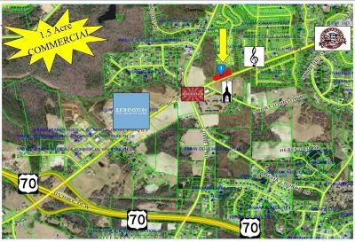Johnston County Commercial Lots & Land For Sale: 1588 W Nc 42 Highway