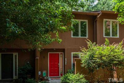 Raleigh Townhouse For Sale: 4303 Southwind Drive