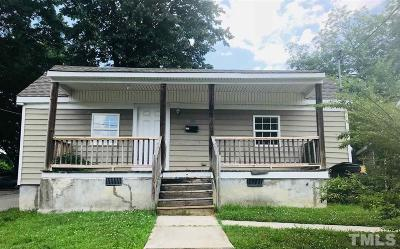 Durham Single Family Home For Sale: 1108 Chester Street