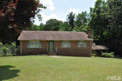 Siler City Single Family Home Pending: 411 W Tenth Street
