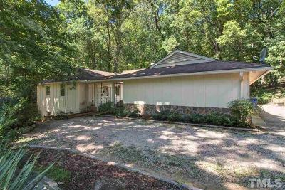 Chapel Hill Single Family Home For Sale: 1504 Arboretum Drive