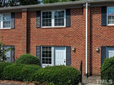 Chapel Hill Townhouse Contingent: 126 Marlowe Court