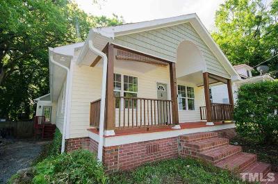 Durham Single Family Home For Sale: 1008 Berkeley Street