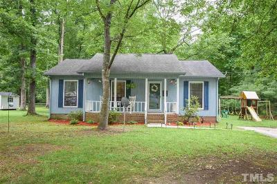 Sanford NC Single Family Home For Sale: $116,000
