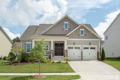 Holly Springs Single Family Home For Sale: 209 Mint Julep Way