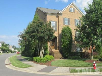 Cary Townhouse For Sale: 1006 Sand Pine Drive