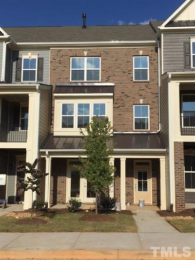 Holly Springs Townhouse Pending: 325 Old Ride Drive
