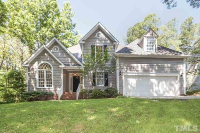 Cary Single Family Home Contingent: 315 W Kirkfield Drive