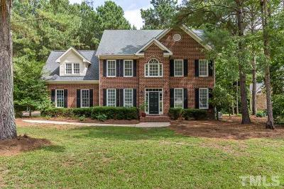 Raleigh Single Family Home Contingent: 4417 Thistlehill Court