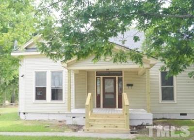 Harnett County Rental For Rent: 49 W Washington Street