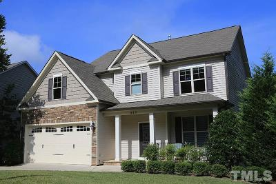 Wake Forest Single Family Home Contingent: 912 Richland Ridge Drive