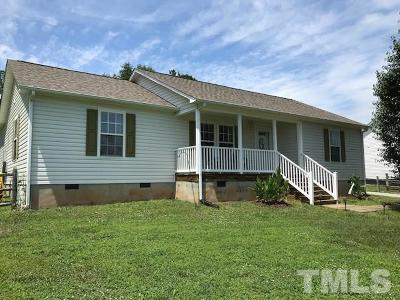 Rougemont Single Family Home For Sale: 1087 Jim Latta Road