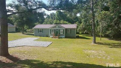 Johnston County Single Family Home For Sale: 459 Ivey
