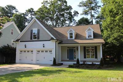 Holly Springs Single Family Home Pending: 104 Sycamore Ridge Lane