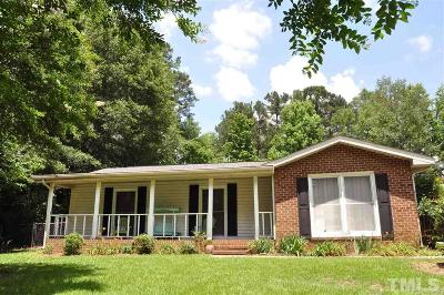 Sanford NC Single Family Home Pending: $116,000