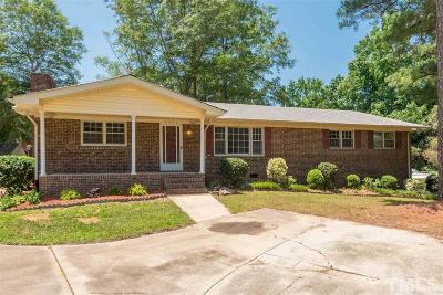 Garner Single Family Home For Sale: 3500 Creech Road