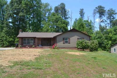 Sanford NC Single Family Home For Sale: $163,900