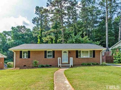 Wake County Single Family Home For Sale: 2808 Bardwell Road