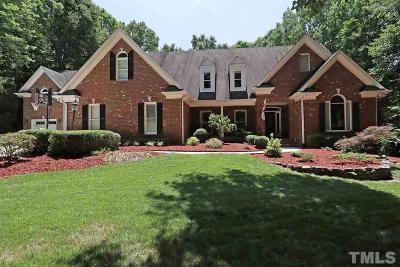 Wake County Single Family Home For Sale: 1512 Briarwood Place