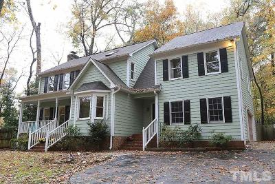 Hillsborough Single Family Home For Sale: 2802 Ode Turner Road