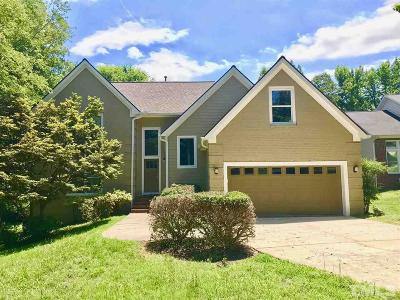 Chapel Hill Single Family Home For Sale: 112 Windhover Drive
