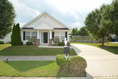 Durham Single Family Home Pending: 107 Bermuda Green Drive