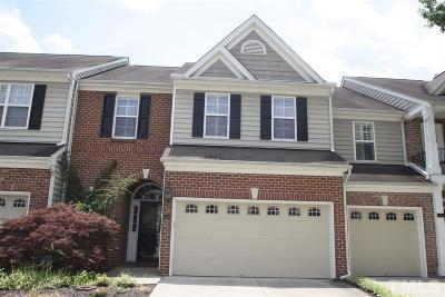 Raleigh Townhouse For Sale: 13353 Ashford Park Drive