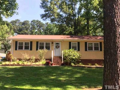 Durham Single Family Home For Sale: 2114 Strebor Street