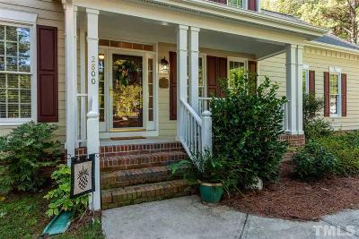 Zebulon Single Family Home For Sale: 2800 Hunters Cove Court