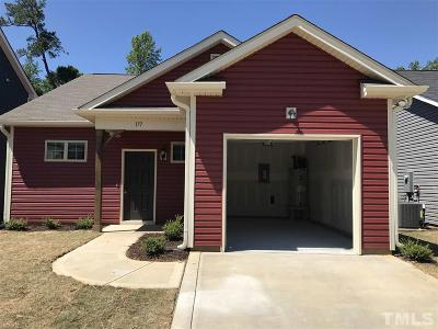 Johnston County Rental For Rent: 177 Golden Gate Parkway