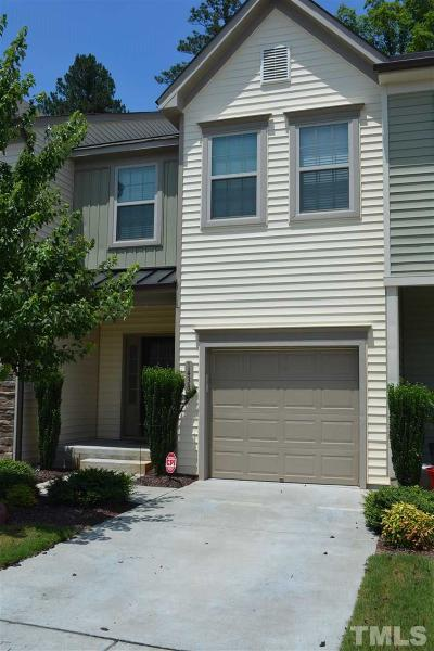 Wake Forest NC Townhouse Pending: $175,000