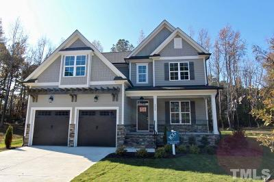 Wake County Single Family Home For Sale: 3112 Ginger Lake Court