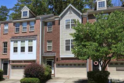 Chapel Hill Townhouse For Sale: 125 Vintage Drive