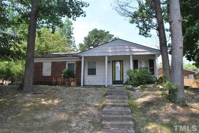Raleigh Single Family Home For Sale: 1320 Hazelnut Drive
