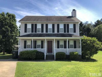 Johnston County Rental For Rent: 104 Kildare Court